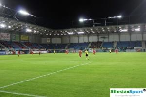 Ćwieczenia ochronne na stadionie Piasta Gliwice